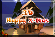 Livewallpaper 3D Happy X-mas