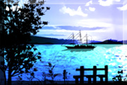 Livewallpaper Lake View Scene